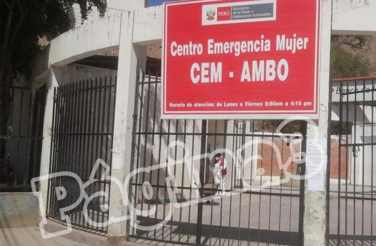 En plena cuarentena se reportaron 36 casos de violencia contra la mujer en Ambo