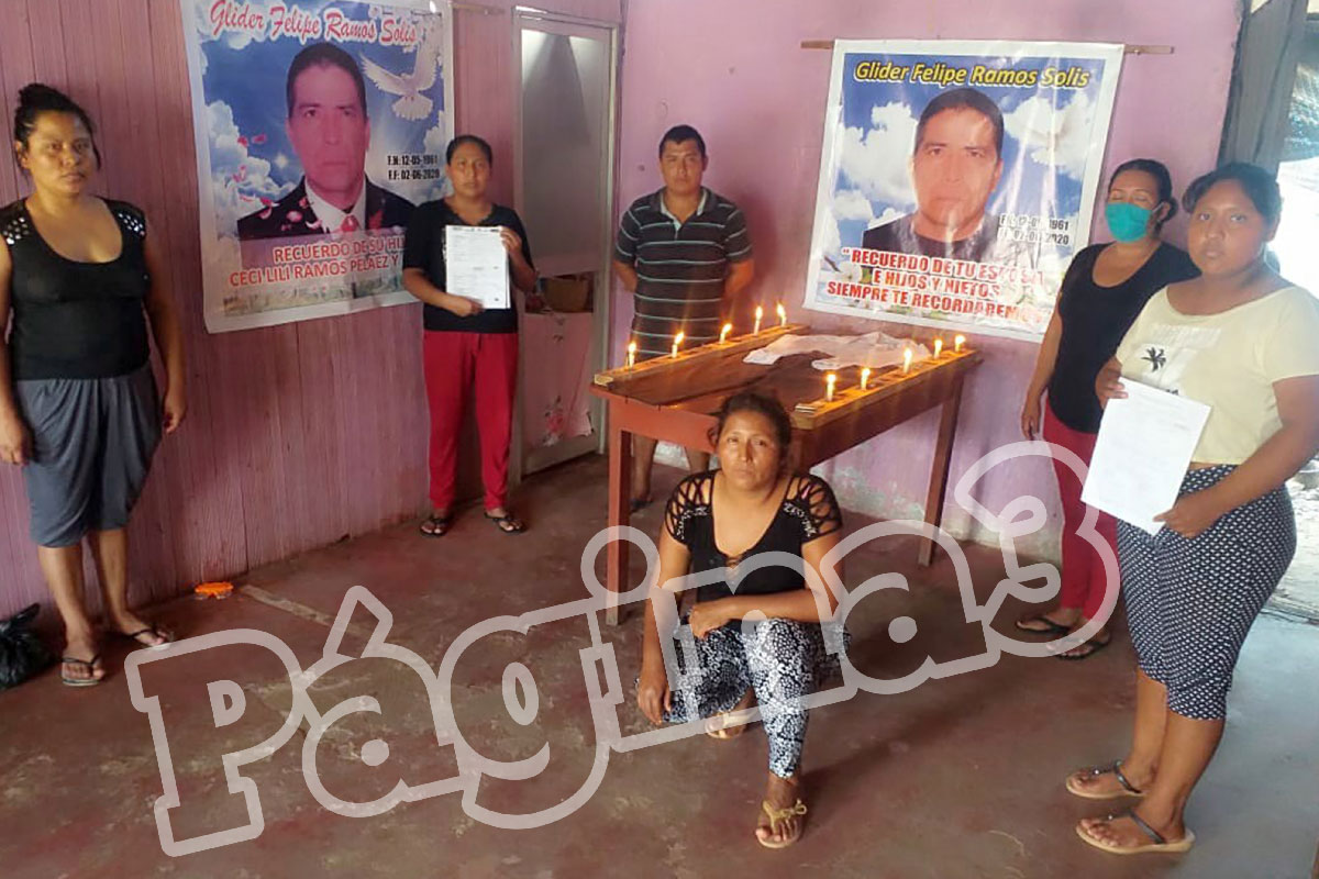 Entierro casi clandestino de exrondero fallecido en Hospital indigna a sus familiares en Luyando