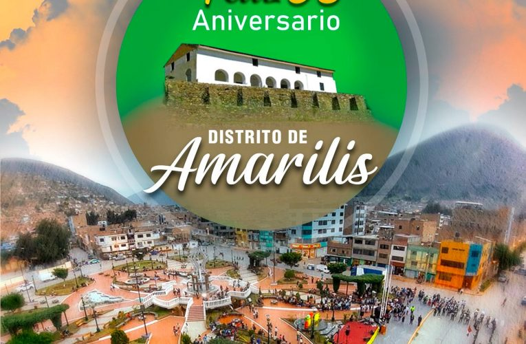 Feliz 38 aniversario  de Amarilis
