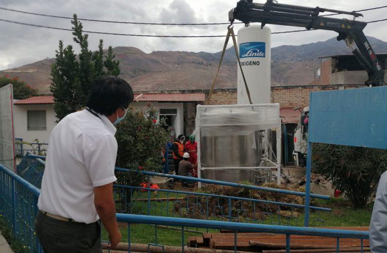 EsSalud instala su 2do isotanque de oxígeno