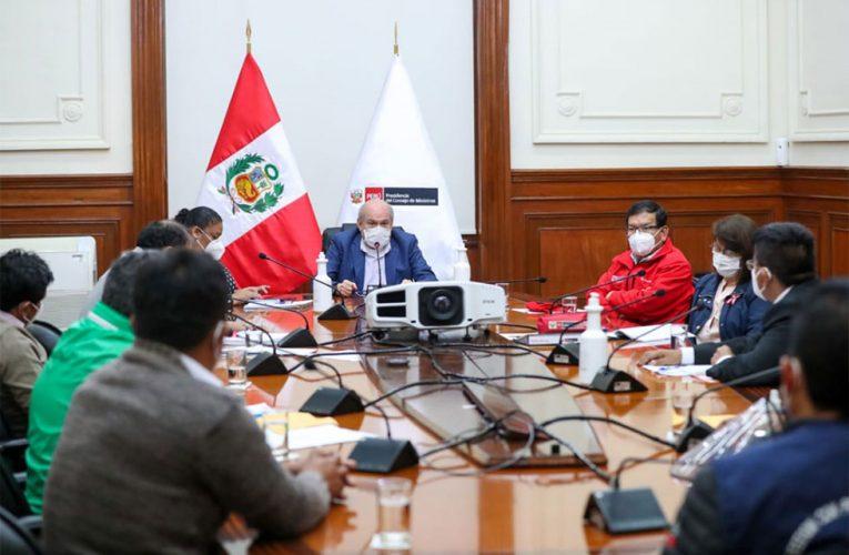 En Consejo de Ministros evaluarán intervención del Minsa en Huánuco