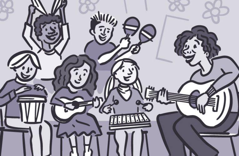 La música como aliada  para prevenir la violencia contra la mujer