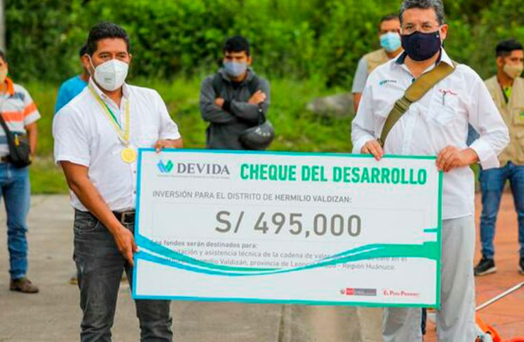 Invertirán S/ 495 mil en fortalecer cultivos de café en Valdizán