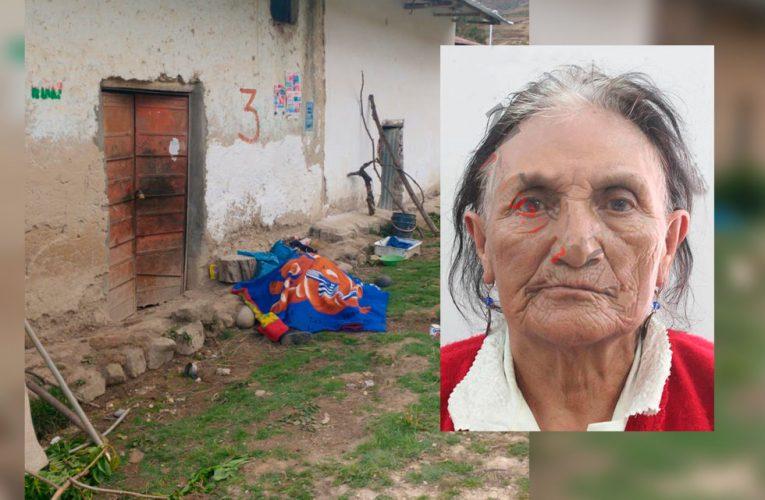 Asesinan a beneficiaria de Pensión 65 en Yacus