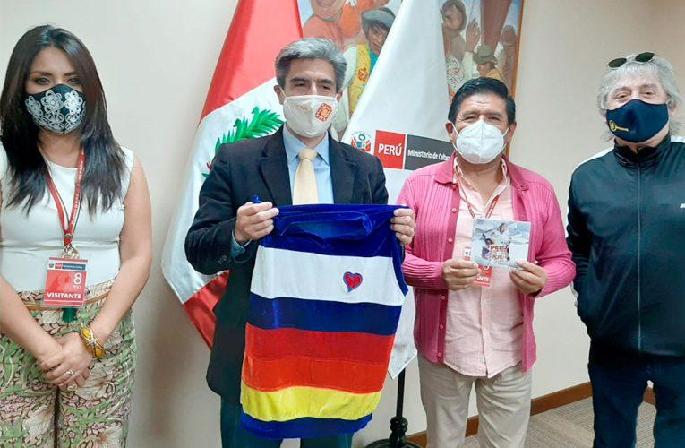 """Sergio """"Pelo"""" D' Ambrosio y otros artistas se reunieron con el ministro de Cultura"""