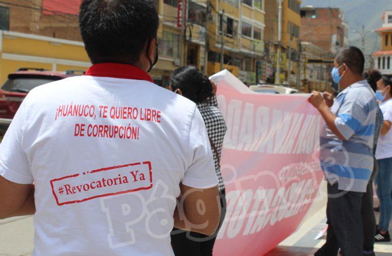 No habrá revocatoria de autoridades en Huánuco