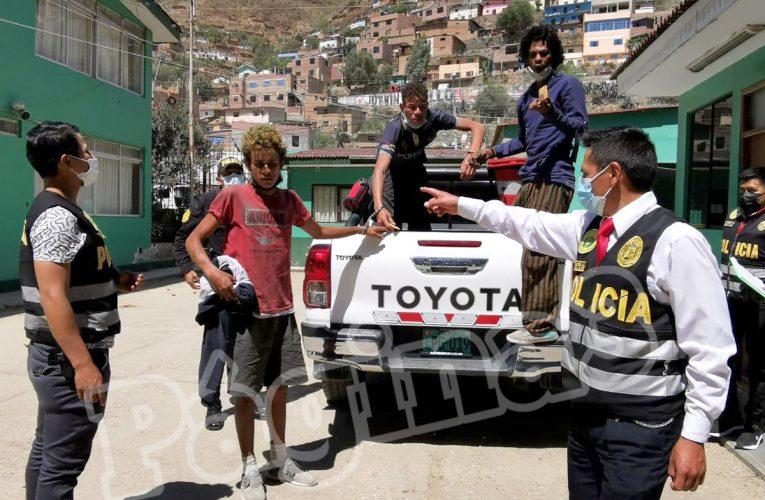 Venezolanos detenidos por robo de celulares