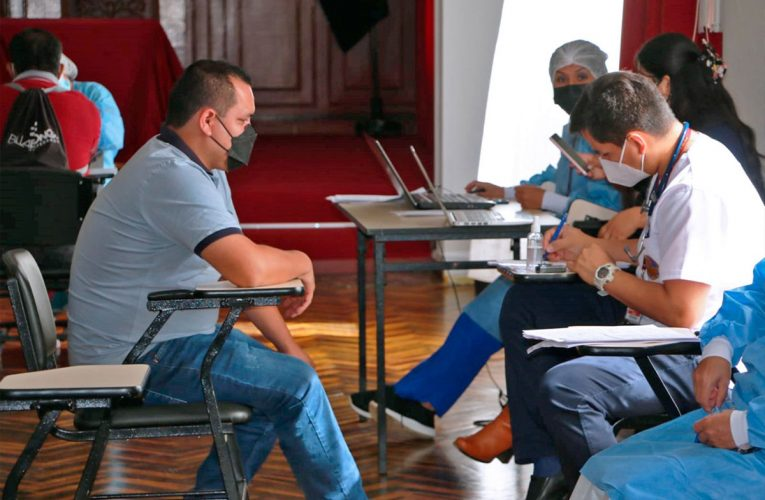 Aplican pruebas para detectar coronavirus en trabajadores de Corte