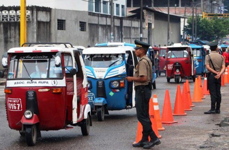 Formalizarán a trimóviles que  prestan servicio de  transporte público